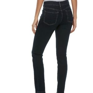 SO perfectly soft Embroidered Skinny Jeans